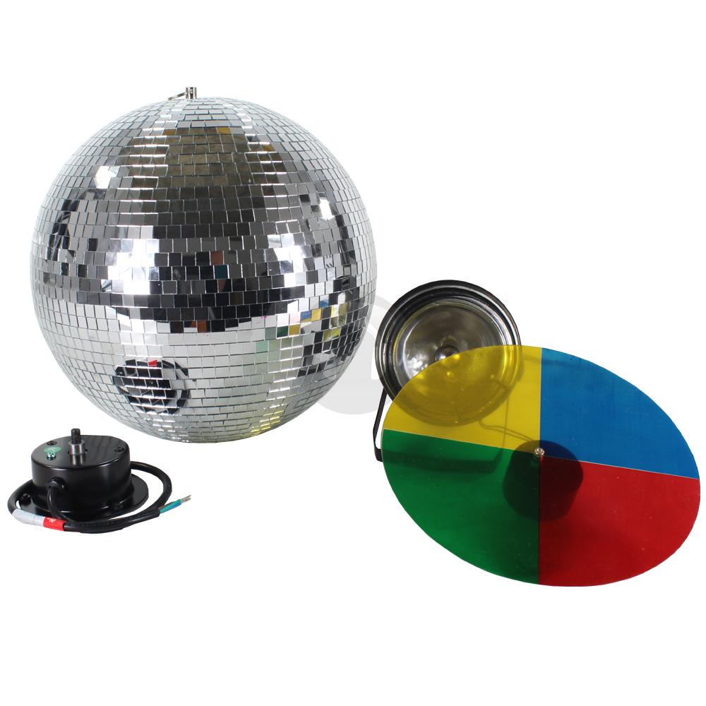 skytec 12 disco mirror ball par can light colour wheel motor package ebay. Black Bedroom Furniture Sets. Home Design Ideas