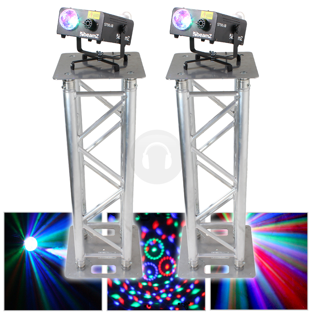 2x Professional DJ Lighting Stands Truss Podium Party