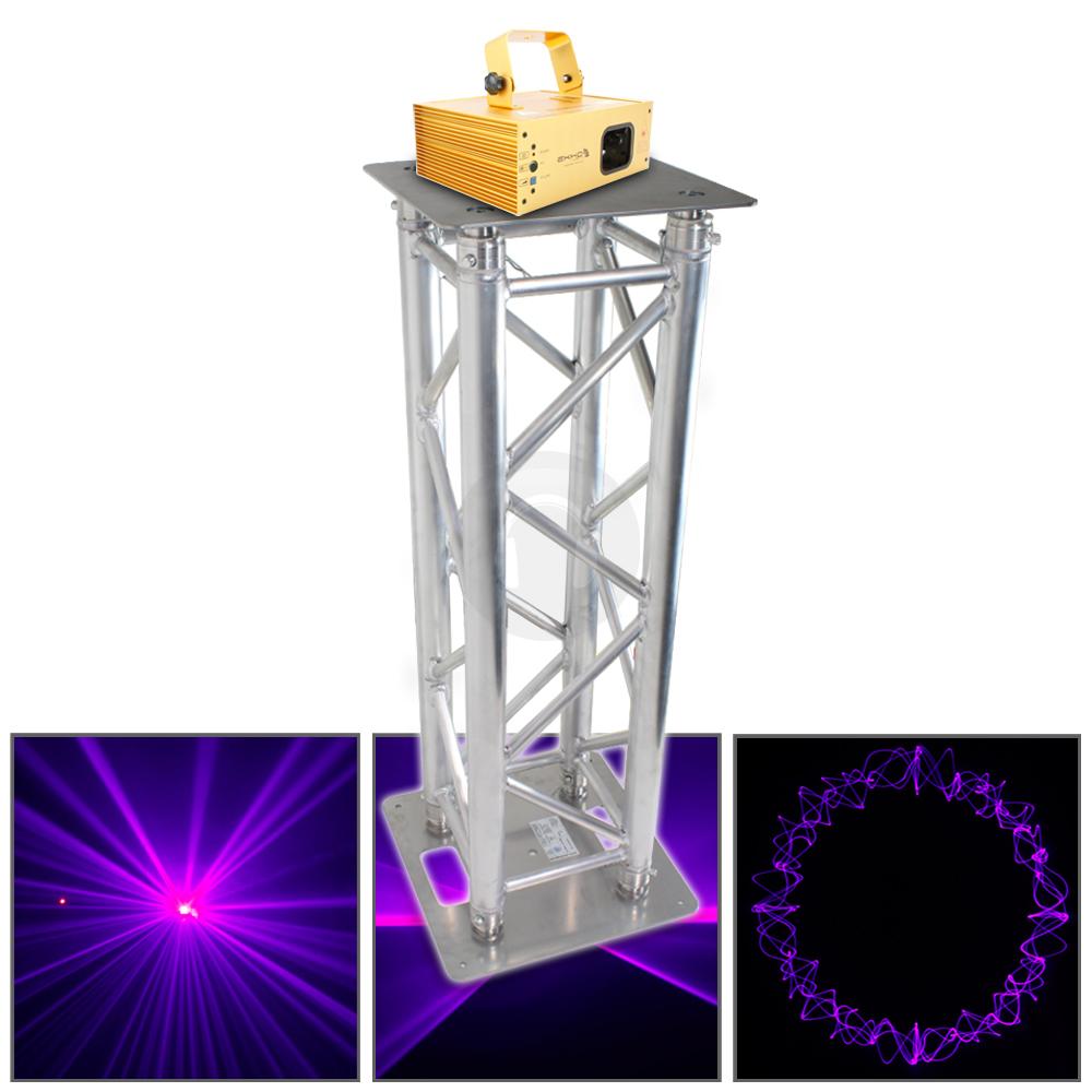 professional dj lighting stand truss plinth podium blue laser party disco light. Black Bedroom Furniture Sets. Home Design Ideas