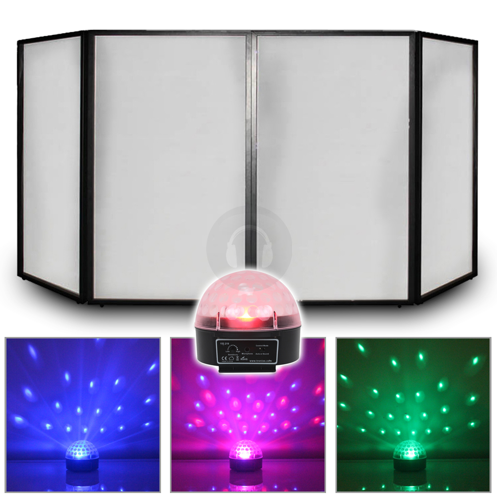 ball led dome light dj screen booth panel party disco lighting ebay