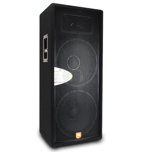 JBL JRX125 Dual 15 Inch 2 Way Sound Reinforcement Loud Speaker System 2000W DJ PA