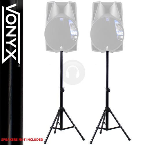2x Ekho Box-5 Steel Reinforced Speaker Stands