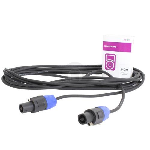 6m Speaker to Speaker Plug Lead Cable