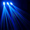Beamz 3-Some Clear LED Moonflower Light DJ Disco Party Lighting Effects