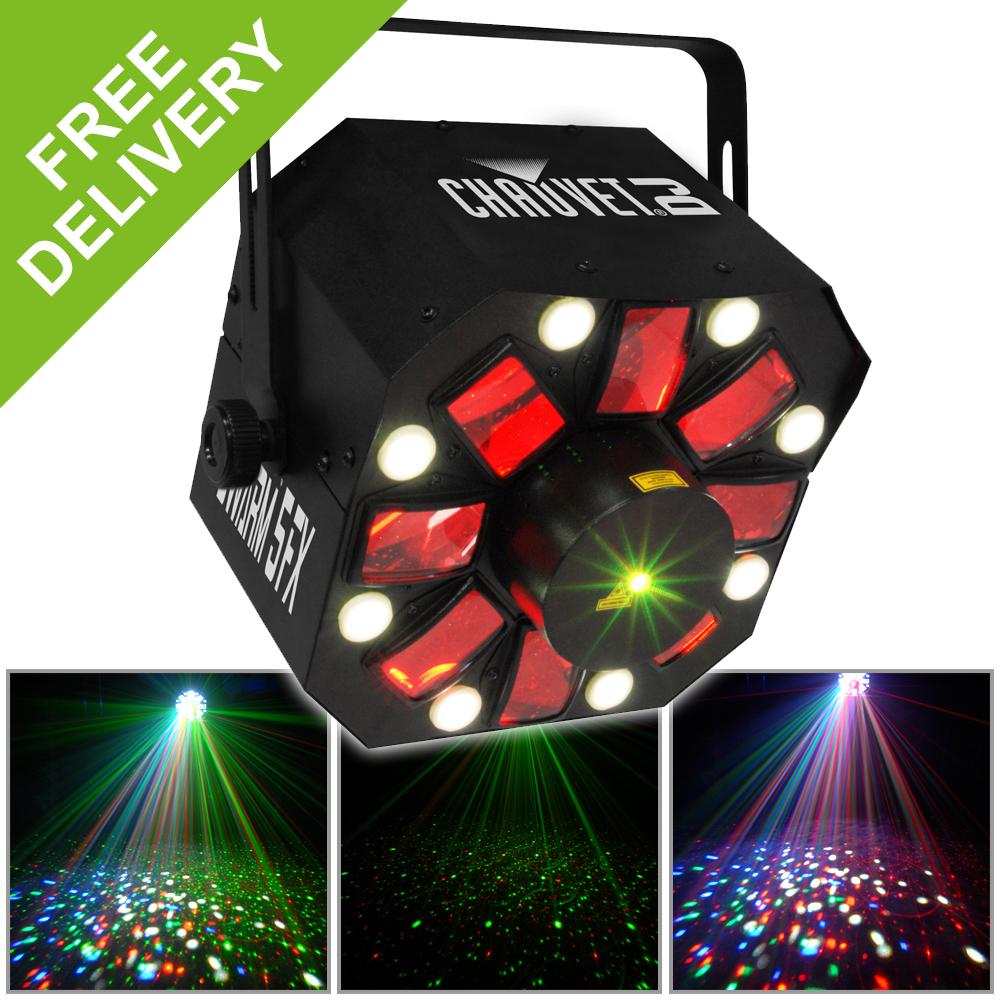 Chauvet Swarm 5 Fx Led Disco Light Dmx Stage Lighting With