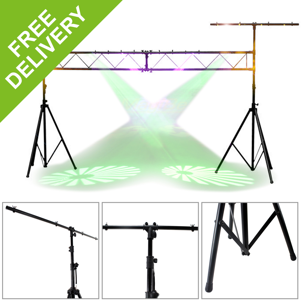 beamz lighting truss dj disco party club band live stage light trussing stand ebay. Black Bedroom Furniture Sets. Home Design Ideas