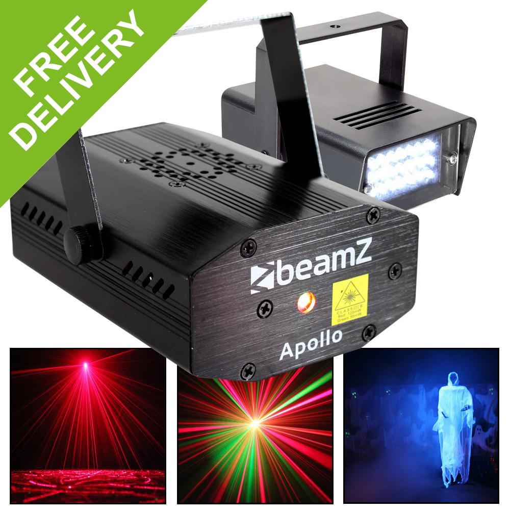 New Led Strobe Light Dj Disco Lighting Party Laser Firefly