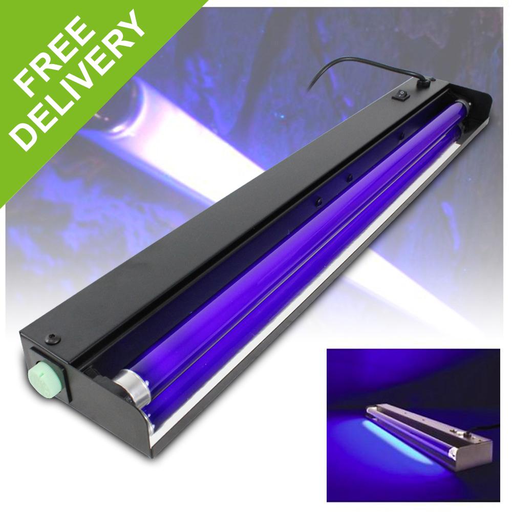 Fluorescent Light Sound: QTX Light Professional DJ Disco Party UV Fluorescent