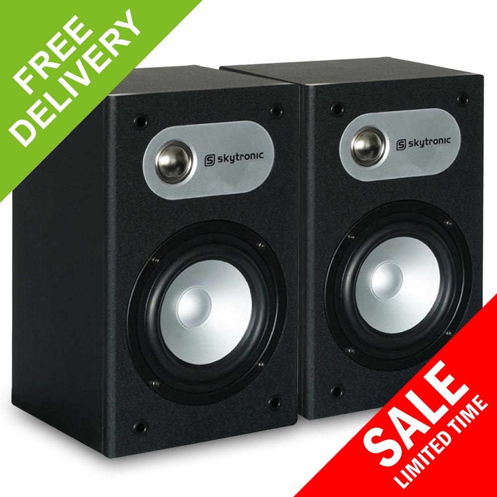 Pair Studio Monitor Hifi Surround Sound Stereo Passive Bedroom Speakers 140w Ebay