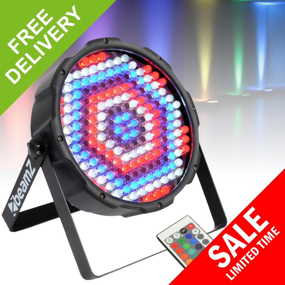 led wash par can uplighter remote stage lighting dmx dj light ebay