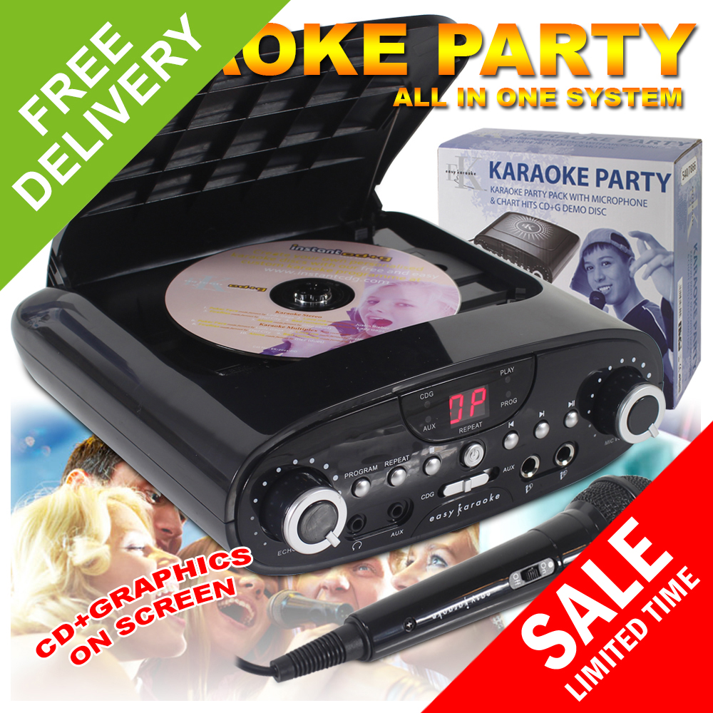cdg karaoke machine